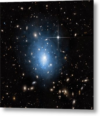 Dwarf Galaxy Metal Print by Nasa/cxc/univ. Of Alabama
