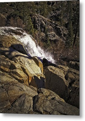 Metal Print featuring the photograph Eagle Falls by Nancy Marie Ricketts