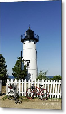 East Chop Lighthouse Metal Print by John Greim