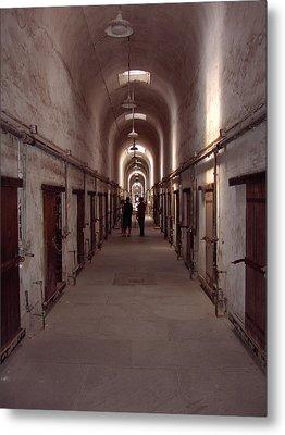 Eastern State Penitentiary Metal Print by David Nichols
