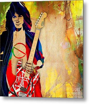 Eddie Van Halen Special Edition Metal Print