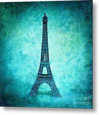 Eiffel Tower Metal Print by Bernard Jaubert