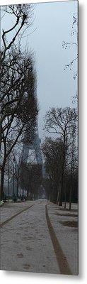 Eiffel Tower - Paris France - 011312 Metal Print by DC Photographer