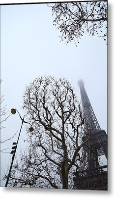 Eiffel Tower - Paris France - 011317 Metal Print by DC Photographer