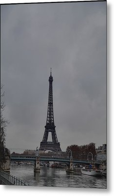 Eiffel Tower - Paris France - 011320 Metal Print