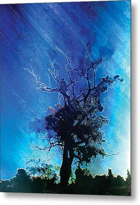 Electric Tree Metal Print by The Art of Marsha Charlebois