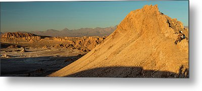 Elevated View Of Desert, Valle De La Metal Print by Panoramic Images