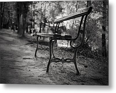 Metal Print featuring the photograph Emptiness by Antonio Jorge Nunes