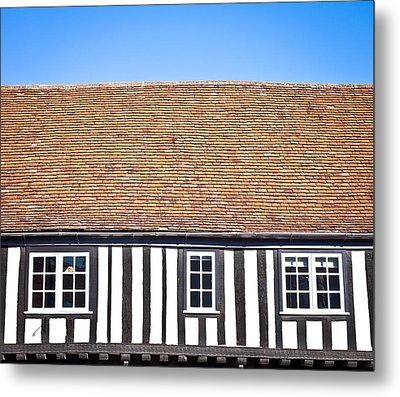 English House Metal Print by Tom Gowanlock