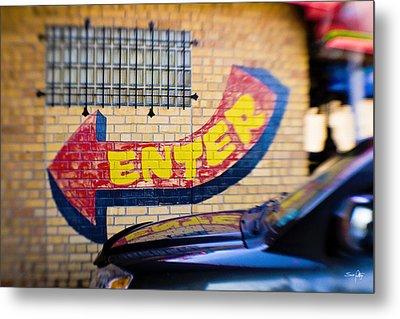 Enter Metal Print by Scott Pellegrin