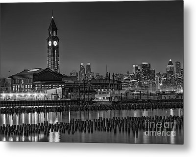 Erie Lackawanna Terminal At Twilight Metal Print by Susan Candelario