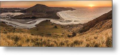 Estuary At Hoopers Inlet Otago Metal Print