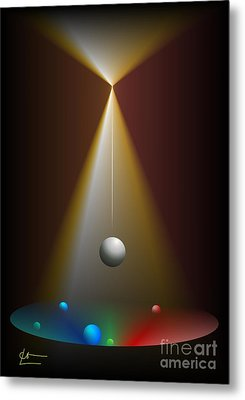 Eternal Movement Metal Print