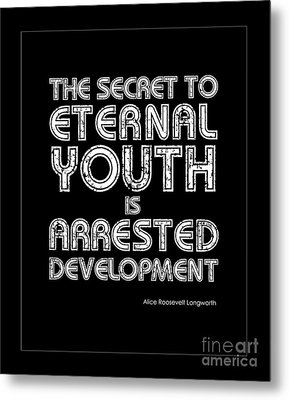 Eternal Youth Metal Print by Kate McKenna