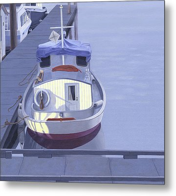 Evening At Port Hardy Metal Print