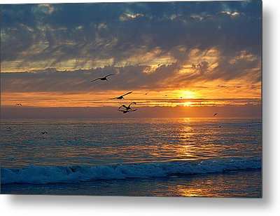 Eventide Metal Print by AJ  Schibig