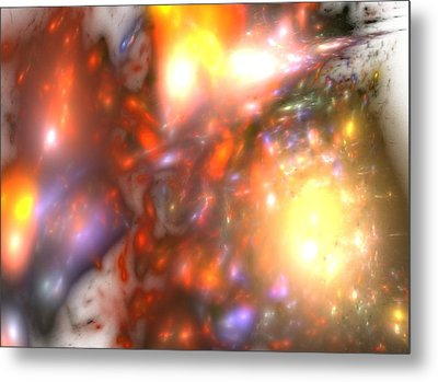Explosion Metal Print by Steve K