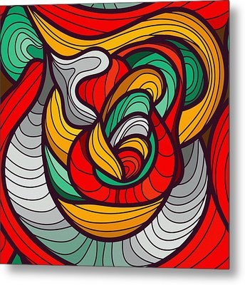 Faces Metal Print by Don Kuing