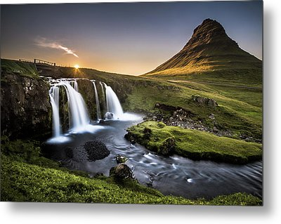Fairy-tale Country Metal Print by Andreas Wonisch