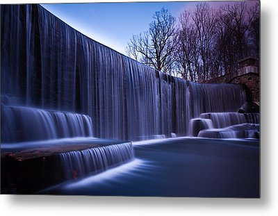 Metal Print featuring the photograph Falling Water by Mihai Andritoiu