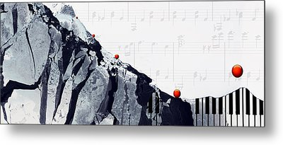 Fantasia - Piano Art By Sharon Cummings Metal Print by Sharon Cummings