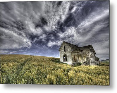 Farmhouse Metal Print by Latah Trail Foundation