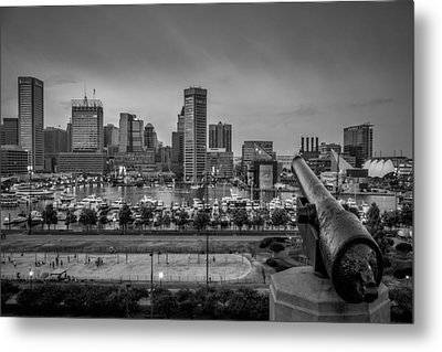 Federal Hill In Baltimore Maryland Metal Print by Susan Candelario