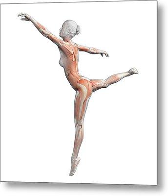 Female Dancer Metal Print by Sebastian Kaulitzki