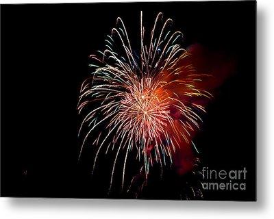 Fireworks Metal Print by Grace Grogan
