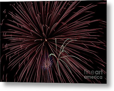 Fireworks Metal Print by Jason Meyer