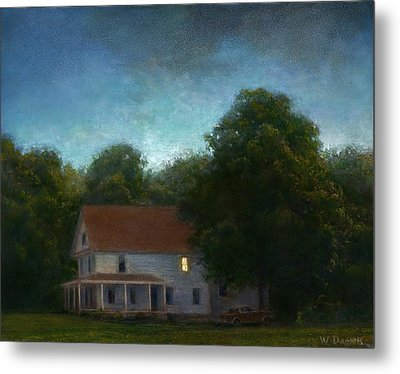 Metal Print featuring the painting First Light by Wayne Daniels