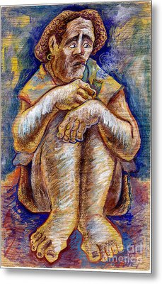 Fisherman Metal Print by Milen Litchkov