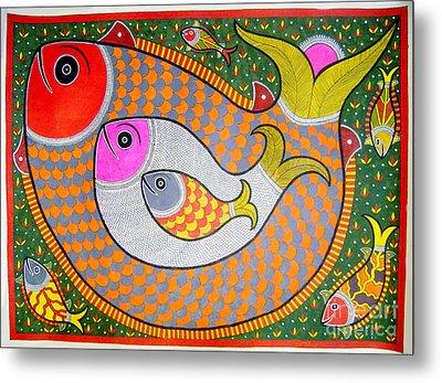 Fishes Metal Print