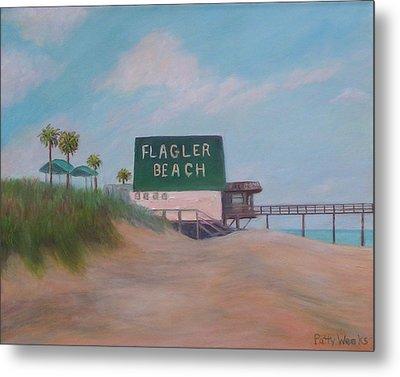 Flagler Beach Florida Metal Print