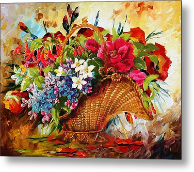 Floral 11 Metal Print by Mahnoor Shah