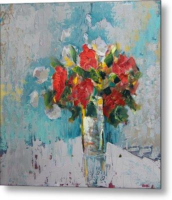 Floral 13 Metal Print by Mahnoor Shah