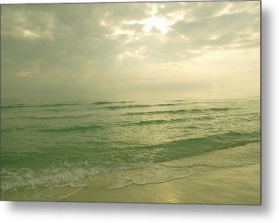 Metal Print featuring the photograph Florida Beach by Charles Beeler