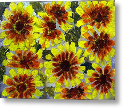Flowers Metal Print by Don Thibodeaux