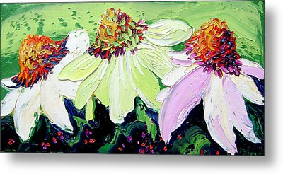 Flowers Metal Print by Isabelle Gervais