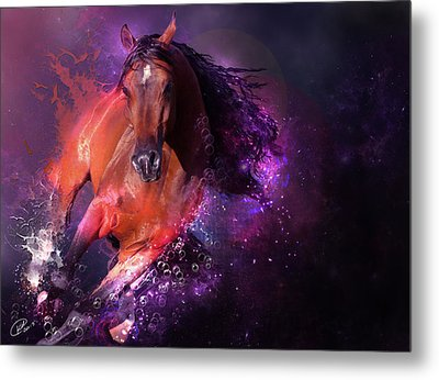 For Life Metal Print by Kate Black