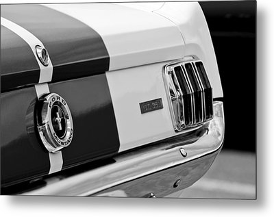 1966 Ford Shelby Mustang Gt 350 Taillight Metal Print by Jill Reger