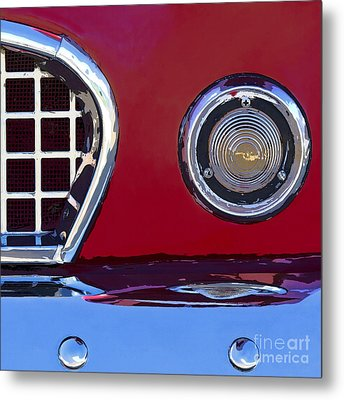 Ford Thunderbird Metal Print by Elena Nosyreva