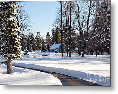 Metal Print featuring the photograph Fort Drum by Gina Savage