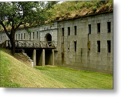 Fort Warren George's Island Metal Print by Gail Maloney