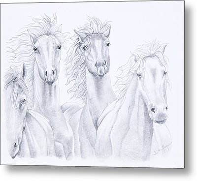 Four For Freedom Metal Print by Joette Snyder