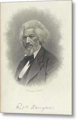 Frederick Douglass Metal Print by British Library