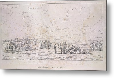 French Artillery Metal Print by British Library