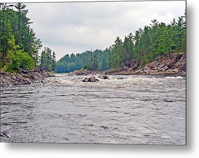 French River Ontario Canada Metal Print by Marek Poplawski
