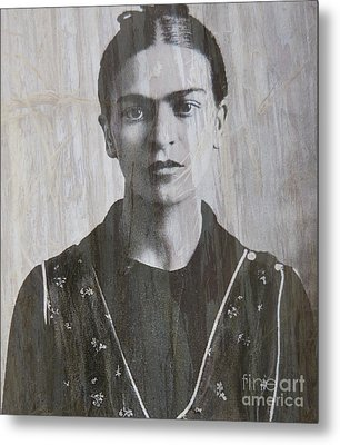 Frida In 1932 Metal Print by Patricia Januszkiewicz