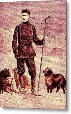 Fridtjof Nansen Metal Print by Collection Abecasis